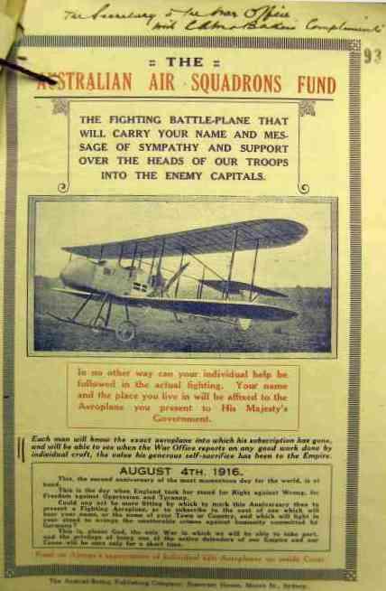 Royal Flying Corps-aircraft